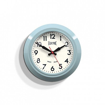 The Small 'Electric' Wall Clock - Blue