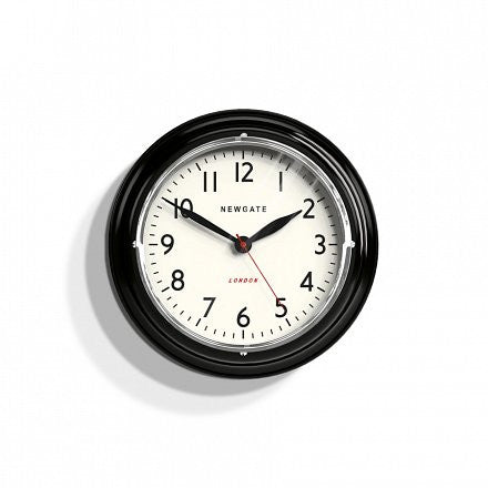 The Mini Cookhouse Wall Clock - Black