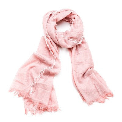 Feathered Scarf - Rose