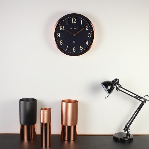 Master Edwards Wall Clock - Copper