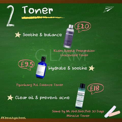 Affordable Back-To-School Korean Skincare Regime Glam Touch UK