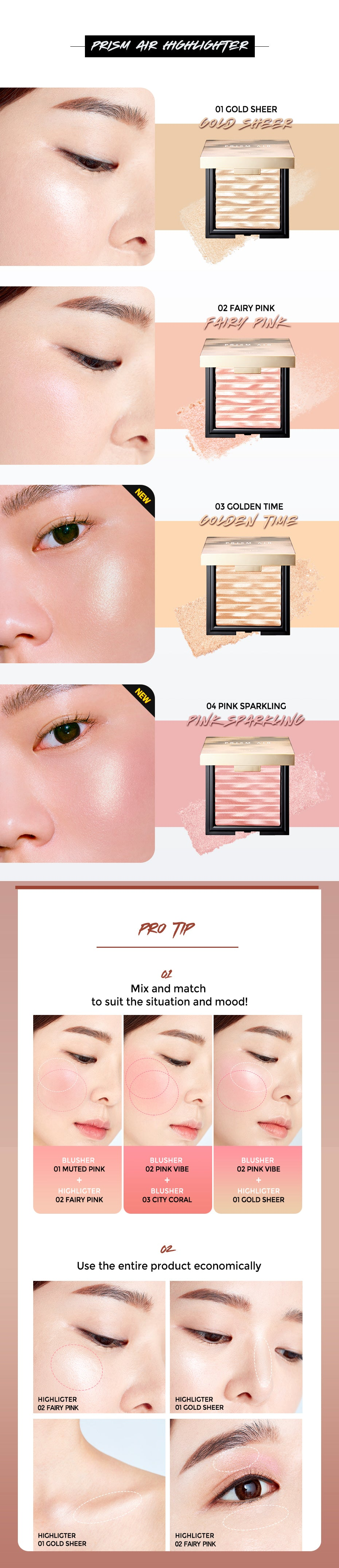 Clio Prism Air Highlighter Glam Touch UK