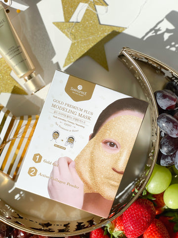 The Eid Gift Guide for Beauty Lovers| Shangpree Gold Modelling Rubber Mask