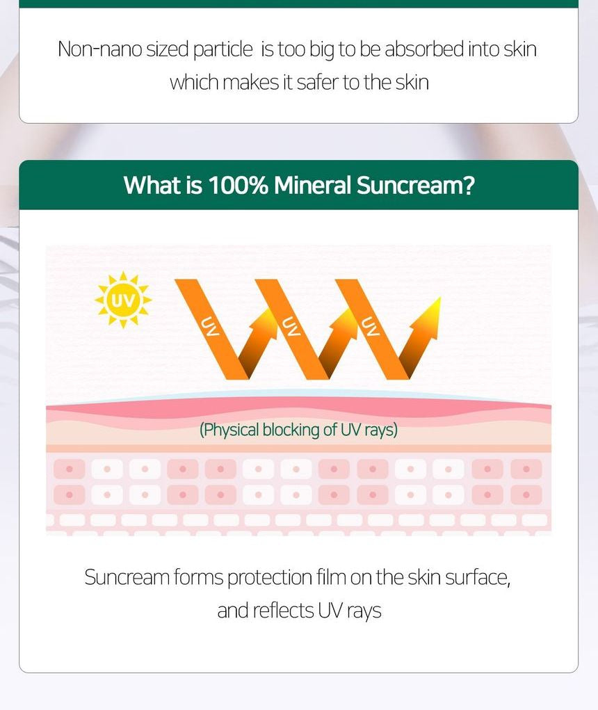 SOME BY MI - Truecica Mineral 100 Calming Suncream SPF50+ PA++++ 50ml Glam Touch UK