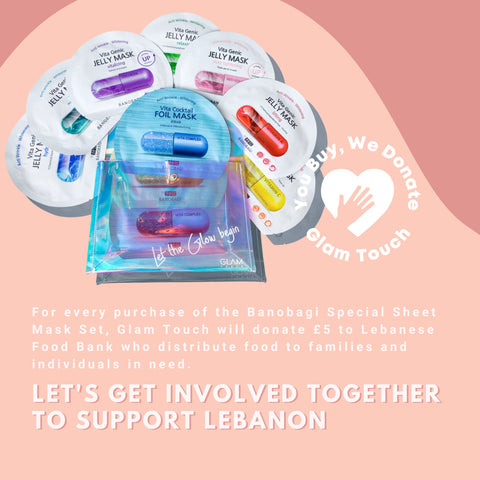 Glam Touch UK supports Lebanon and Beirut - You Buy, We Donate