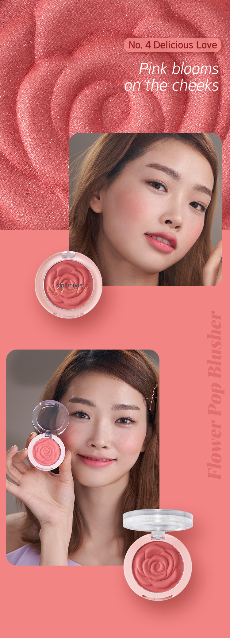Mamonde Flower Pop Blusher - Glam Touch UK