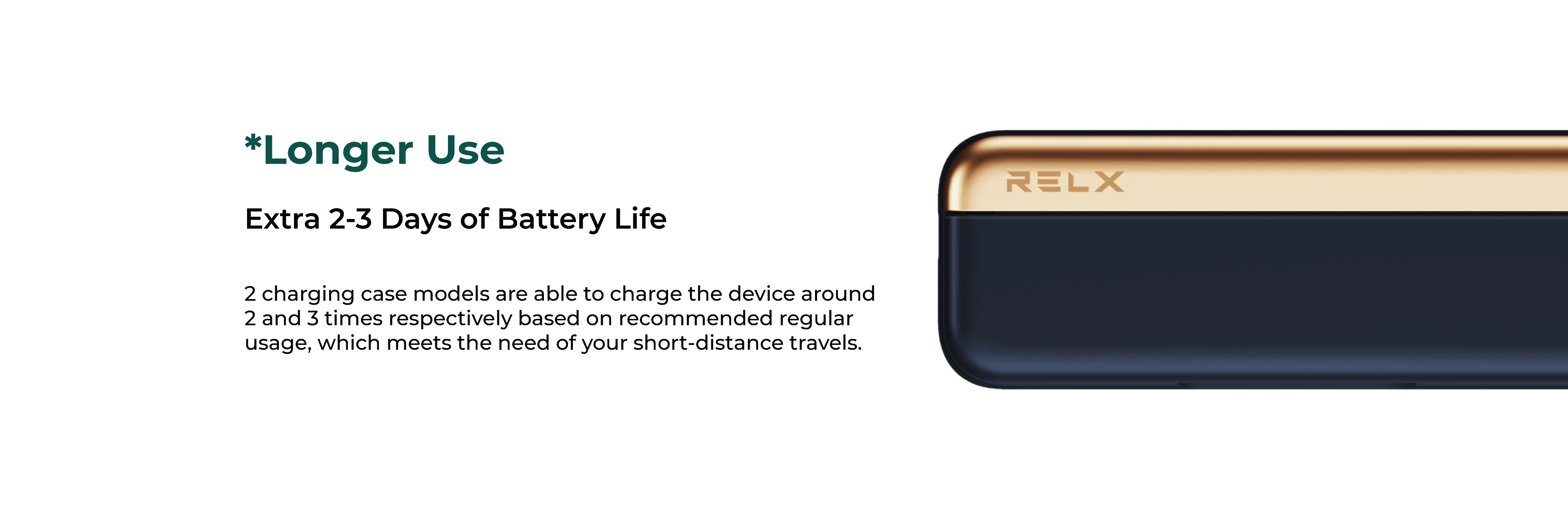 Extra 2-3 Days of Battery Life