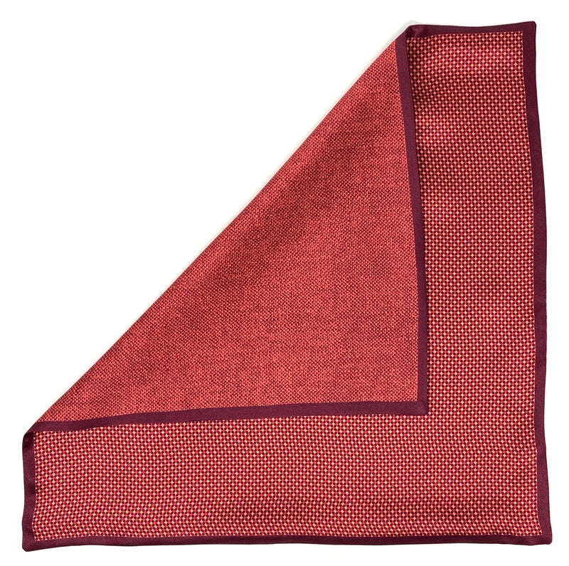 Pocket Square, Red - ELI•ROSCOE