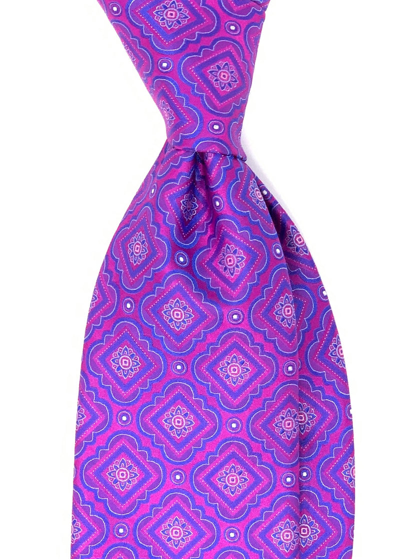 Pocket Square, Orange/Purple