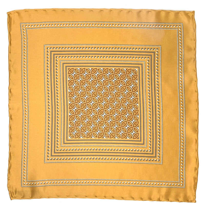 Pocket Square, Golden - ELI•ROSCOE