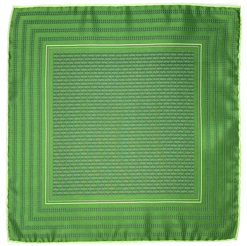 Pocket Square, Green - ELI•ROSCOE