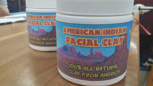 American Indian Facial Clay