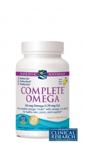Complete Omega 3 6 9 (Lemon) (Nordic Naturals) 120 soft gel caps