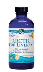 Arctic-D Cod Liver Oil (Orange) (Nordic Naturals)