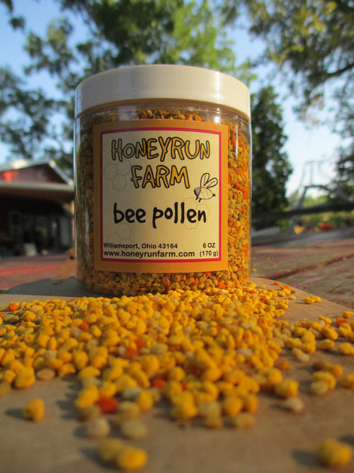 Bee Pollen (Honeyrun Farm) 6oz.