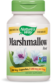 Natures Way - Marshmallow Root 100 caps