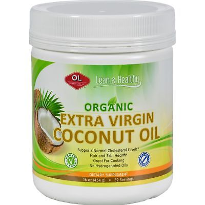 ORGANIC EXTRA VIRGIN COCONUT OIL (OLYMPIAN LABS) 16oz