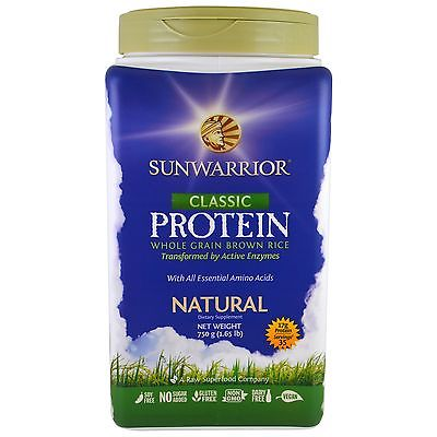 Classic Protein Natural (SUNWARRIOR)	1.75 lb.