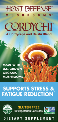 "Cordychi ""supports stress & Fatigue Reduction"" 60 vcaps"