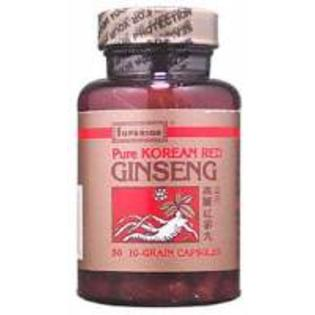 Ginseng Korean Red 10g 50 Caps (SUPERIOR TRADING)