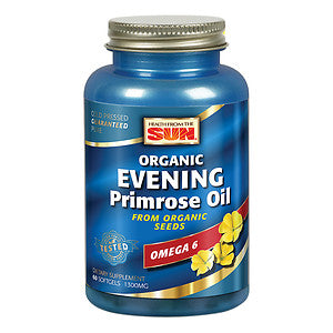 Evening Primrose Oil 1300 (Health From The Sun) 60 gels
