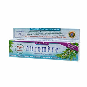 Auromere Toothpaste - Mint-Free