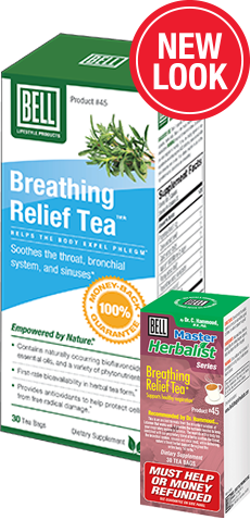 Breathing Relief Tea (Bell) 30 Bags