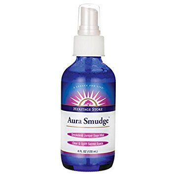 Aura Smudge Juniper Sage Spray 4oz. (Heritage)