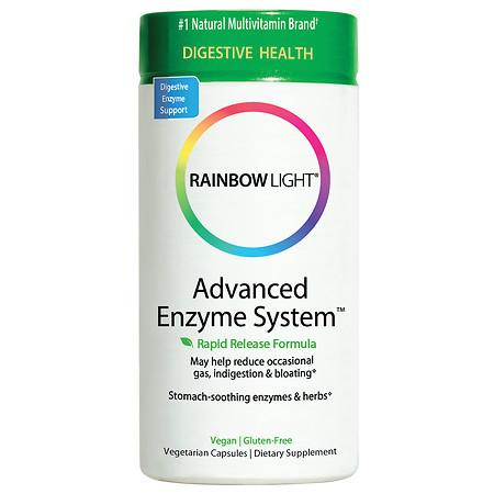 Advanced Enzyme System (Rainbow Light) 90 vcaps