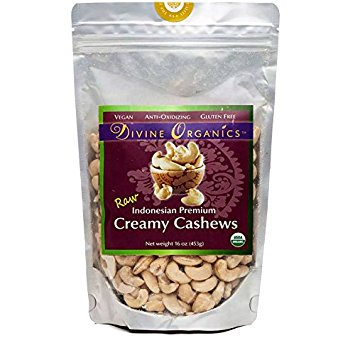 Creamy Cashews Organic 16 Oz (Transition Nutrition)