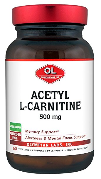 L-CARNITINE 500 mg (OLYMPIAN LABS) 60 Caps