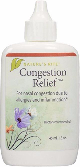 Congestion Relief Sinus Spray- Natures Rite 1.5 oz