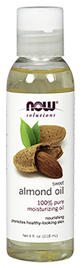 ALMOND OIL 16oz. (NOW FOODS)