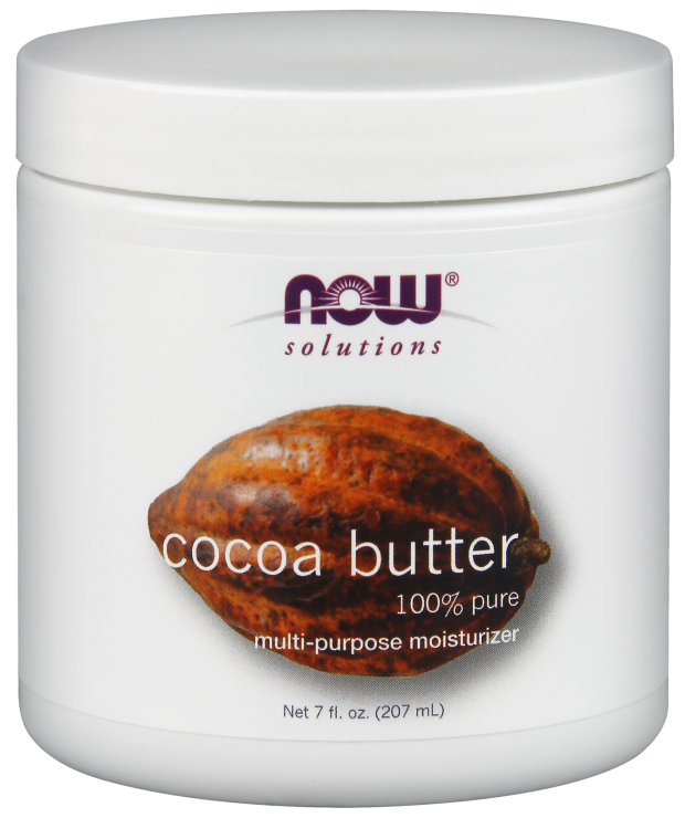 COCOA BUTTER 7oz. (NOW)