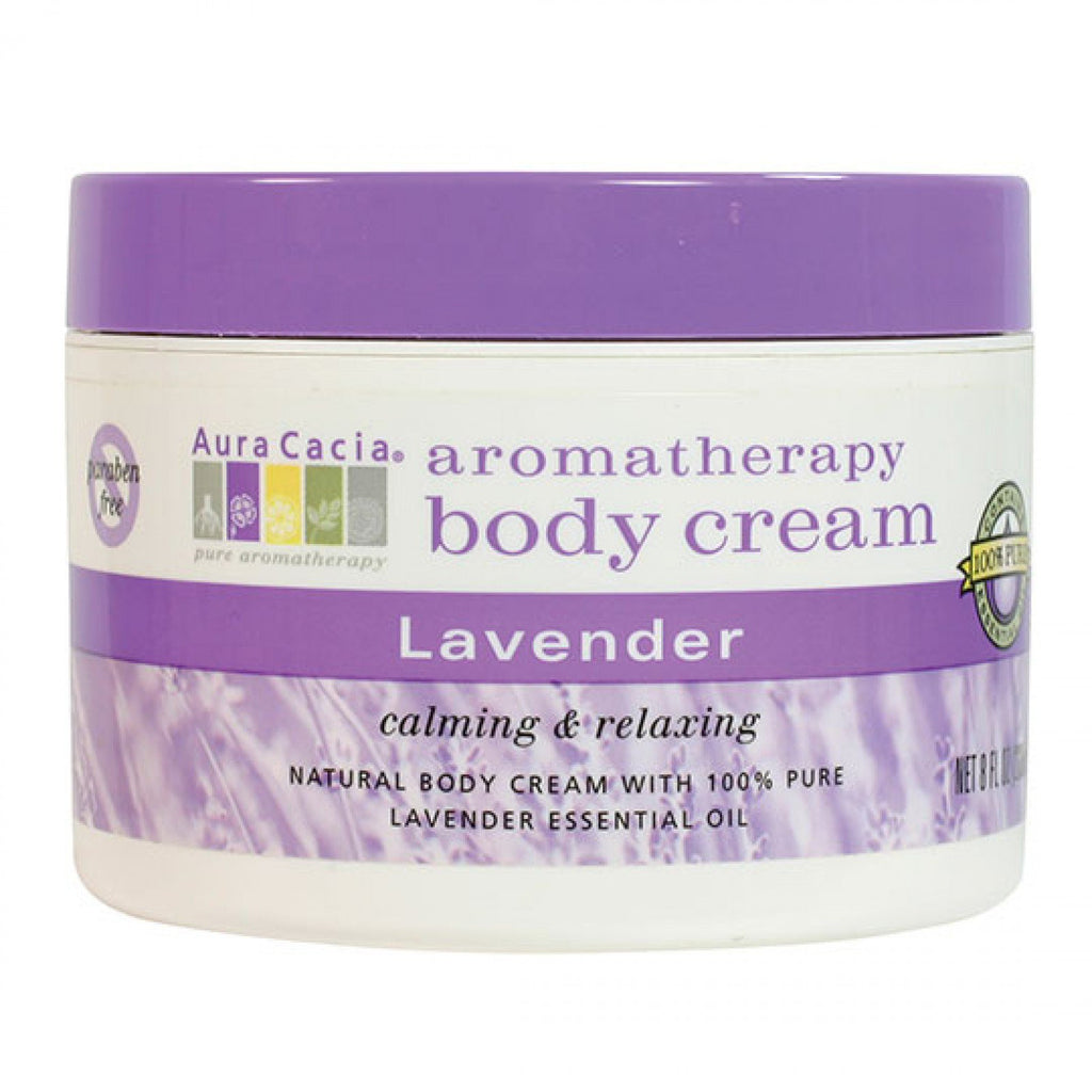 Lavender Massage Body Cream (Aura Cacia)