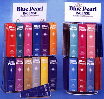 Blue Pearl Incense-Silver Lotus (Blue Pearl)