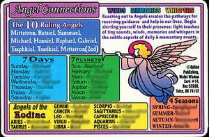 Angel Connections Wallet Card