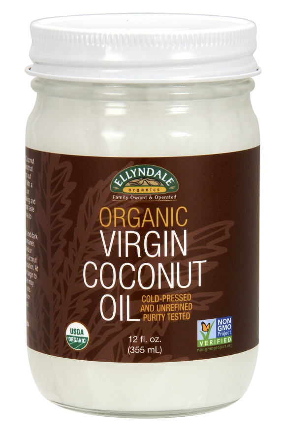 Ellyndale Organic Coconut Oil (Now)