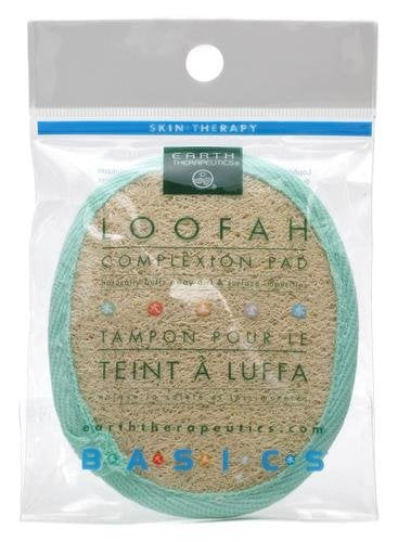 Loofah Complexion Pads 3pack  (Earth Therapeutics)