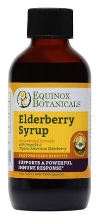 Elderberry Syrup (Equinox Botanicals) 4oz.