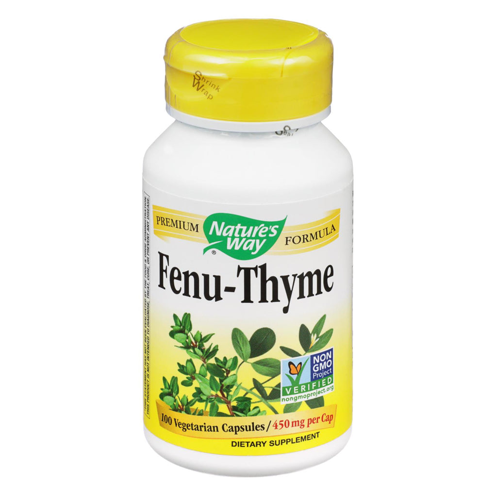 FENU-THYME (NATURES WAY) 100 caps