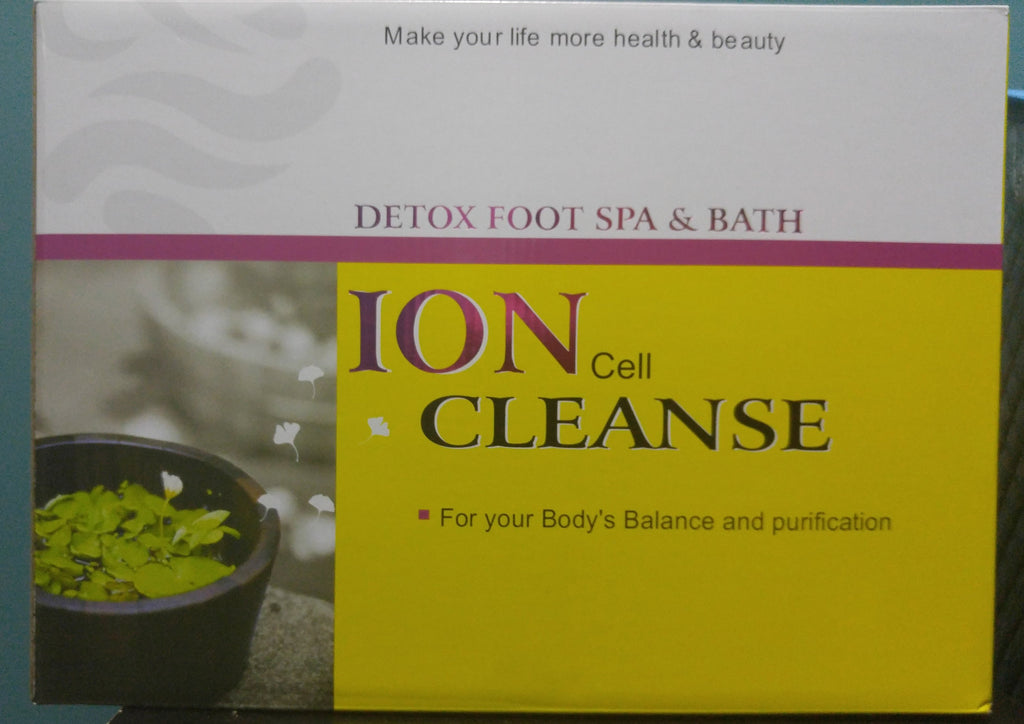 ion cleanse foot detox