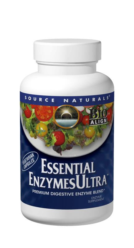 Essential Enzymes Ultra (Source Naturals) 30 Caps
