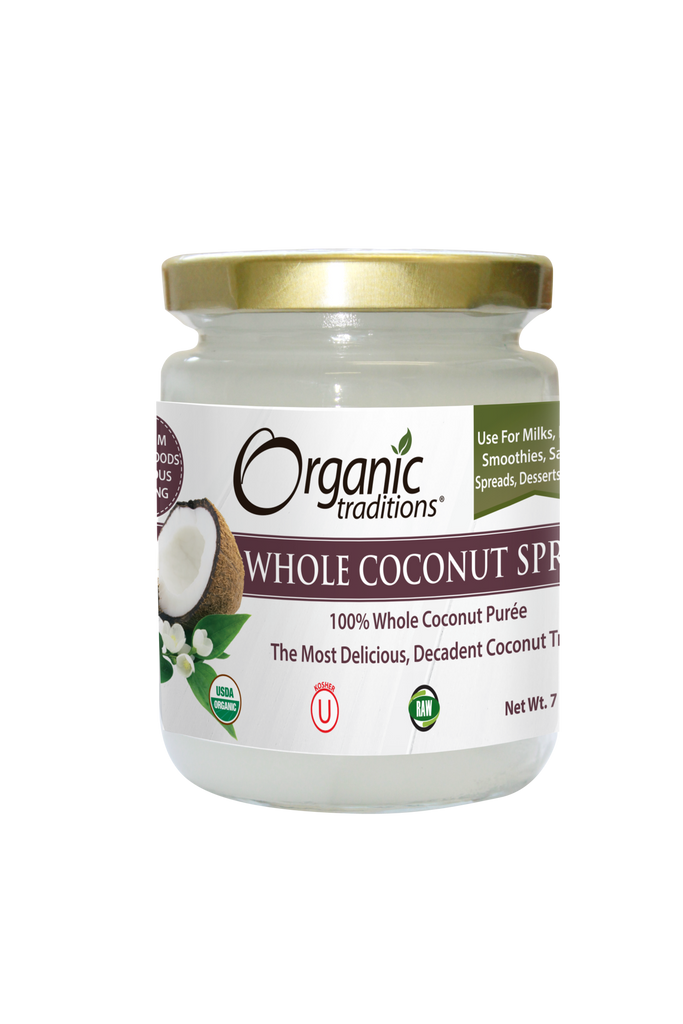WHOLE COCONUT SPREAD 7 OZ (ORGANIC TRADITIONS)