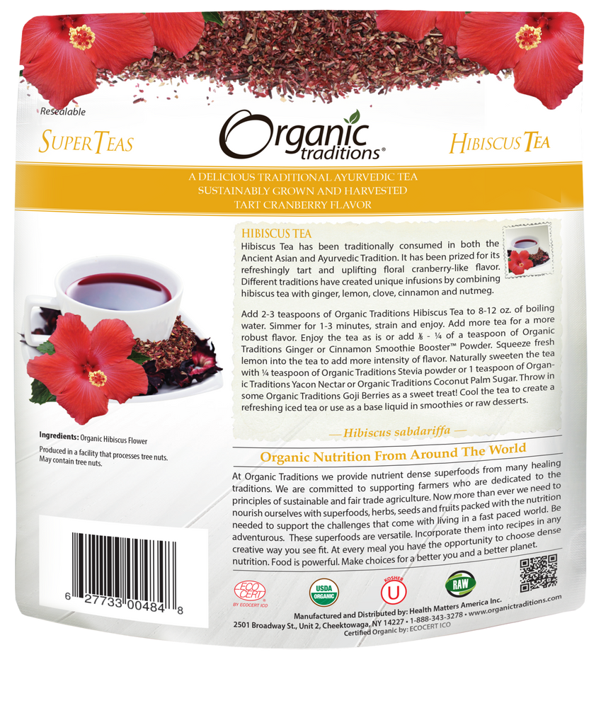 HIBISCUS TEA (ORGANIC TRADITIONS)