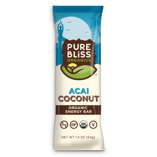 ACAI COCONUT ORGANIC ENERGY BAR (PURE BLISS ORGANICS) 1.9OZ