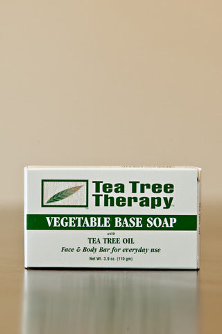 Vegetable Based Soap (Tea Tree Therapy) 3.5 oz