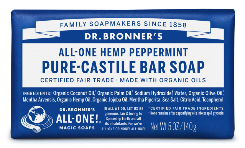 Peppermint Liquid Soap (Dr. Bronners)