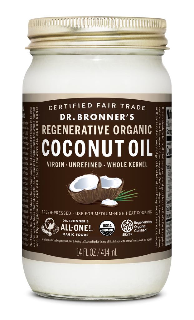 bronners coconut oil 14 oz