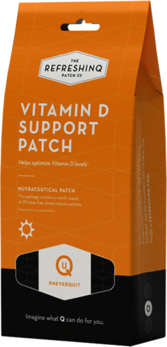 VITAMIN D SUPPORT PATCH (REFRESHING) 30ct